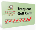 Frequent Golf Card